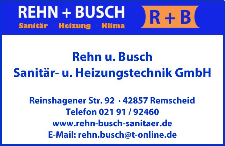 Rehn und Busch Sanitär- und Heizungstechnik GmbH