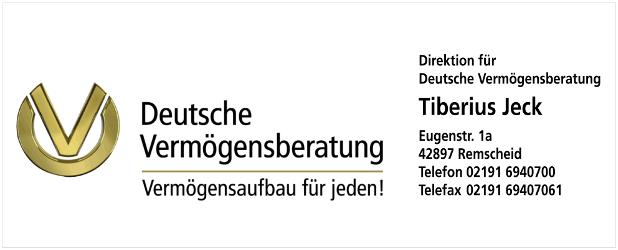 Tiberius Jeck - Deutsche Vermögensberatung